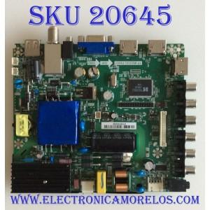 MAIN / FUENTE (COMBO) / POLAROID K15121190 / TP.MS3393.PB801 / V400HJ6-PE1 / 815361002638 / PANEL V400HJ6-PE1 Rev.C2 / MODELO 40GSR3000FM 81536100