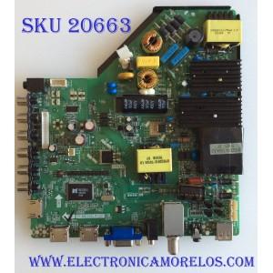 MAIN FUENTE (COMBO) PROSCAN / B15051763 / TP.MS3393.PC821 / PANEL LC550EGY-SHM1 / MODELO PLED5529A-D A1506