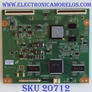 T-CON SONY / 1-857-817-11 / TDL-C4LV0.4 / LJ94-03666C / 3666C / PANEL LTU400HF01-001 / MODELO KDL-40EX710