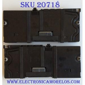 KIT DE BOCINAS PARA TV LG / EAB63688306 / EAB63688305 / MCK68506101 / MCK68465001 / PANEL LC550EGE(FJ)(M4) / MODELO 55UH6090-UF.BUSWLJR / 55UF6450