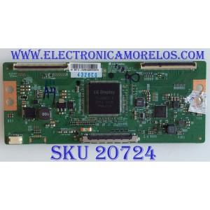 T-CON W BOX / 6871L-4328C / 6870C-0584A / 4328C / PANEL K490WD9 / MODELO 0E-49LED4K