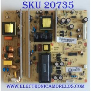 FUENTE DE PODER RCA / RE46ZN1640 / E3-98102022-ER / ER981 / KB-5150CEM-1 / MI2-140421 / MODELO LED55C55R120Q