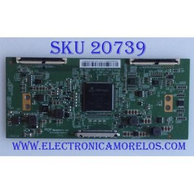 T-CON VIOS / PROSCAN / 44-9771206O / 47-6021154 / HV490QUB-N8D / PANEL CN49CN7280 / MODELOS TV4919K / PLDED4935A-UHD-B