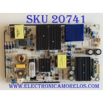 FUENTE DE PODER VIOS / G18070249 / PW.108W2.801 / HV490QUB-N8E / 8142132110088 / T2018061930 / PANEL CN49CN7280 / MODELO TV4919K