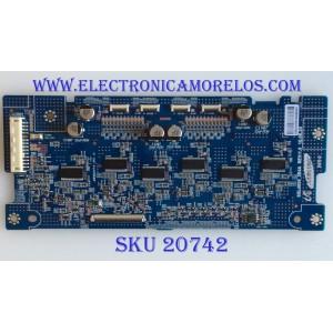 LED DRIVER SONY / 1-857-944-11 / LJ97-03357A / SSL4055_2E4A / PANEL LTY550HQ03 / PASTES SUSTITUTAS LJ97-03357B / LJ97-03357C / LJ97-03357D / MODELOS KDL-55HX729 / KDL-46HX820 / KDL-55HX820 / KDL-55NX720
