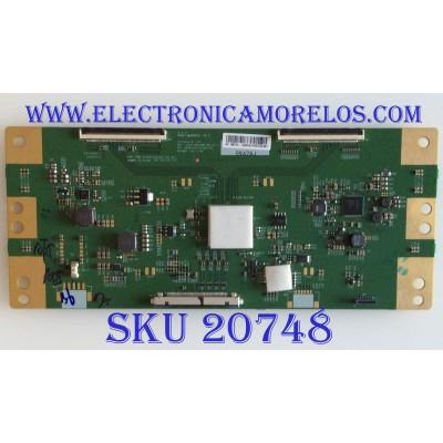 T-CON SONY / 6871L-5942A / 6870C-0761A / 5942A / PANEL YM9F043HNG01 / MODELO XBR-43X800G