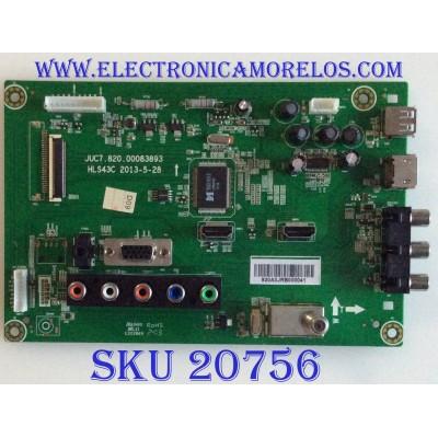 "MAIN RCA / 920A3JRB / JUC7.820.00083893 / HLS43C / PANEL S43SD-YD02 / MODELO 43"""