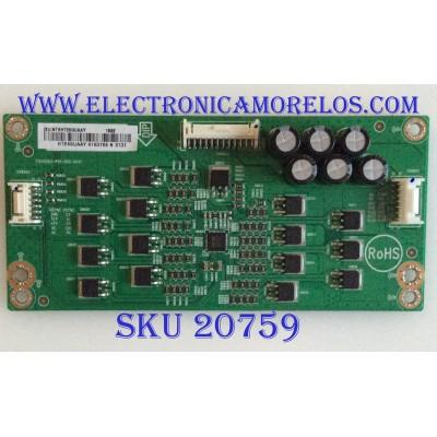 LED DRIVER VIZIO / LNTVHT26GUAAY / 715G9365-P01-000-004Y / (X)LNTVHT26GUAAY / PANEL TPT750U1 -QVR01.U / MODELO E75-F1 LTMWWWMU