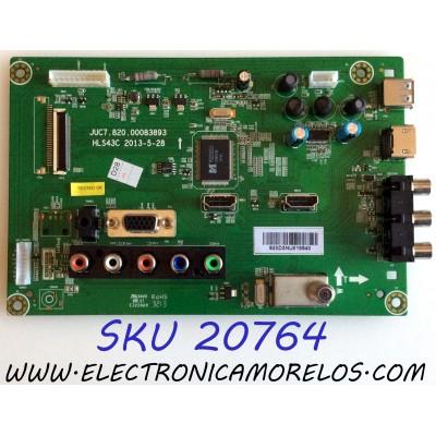 MAIN RCA / 920D3NU / JUC7.820.00083893 / HLS43C / MODELO