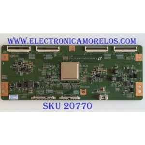 T-CON RCA / LJ94-40674A / 15Y_75_S2EU22ATSTLTG2V0.2 / 40674A / LMC750FF02 / PANEL CN750NC772 / LSC750FF02-W01 / MODELO RTU7575-B