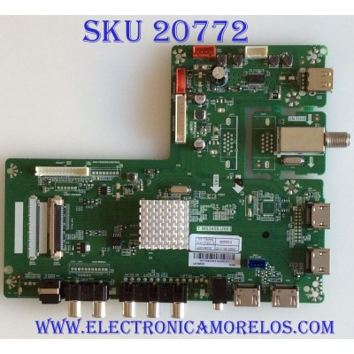 MAIN RCA / H17092393 / T.MS3458.U801 / LSC750FF02 / 20171108 / 8142127342113 / PANEL CN750NC772 / MODELO RTU7575-B
