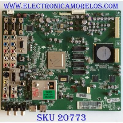 MAIN LG / AGF55791301 / EAX42338402 / EAX42338403 / PANEL LC420WUD-(SA)(A1) / MODELO 42LG70-UA AUSQLJR / PARTES SUSTITUTAS CRB30432701 / EBU50597102