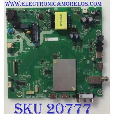 MAIN FUENTE (COMBO) SHARP / 241739 / RSAG7.820.8317/ROH / HU40N2176MFWR (BOM1) / PANEL JHD400N2F31-TXL1QL\BBY\S0\FM\ROH / MODELO LC-40LB601U