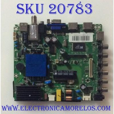 MAIN FUENTE  (COMBO) AVERA / 32AER10 / TP.MS3393.PB801 / K15100379 / PANEL ST3151A04-8 / MODELO 32AER10