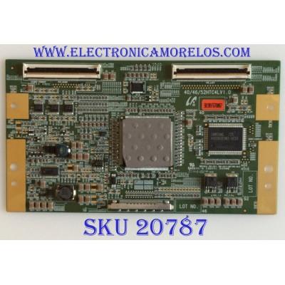 T-CON SAMSUNG / LJ94-01901F / 40/46/52HTC4LV1.0 / 40HTC4LV1.0 / PANEL LTA400HT-L01 / MODELO LNT4061FX/XAA / SUSTITUTAS BN81-01312A / LJ94-01981A / BN81-01305A / LJ94-01707H / LJ94-01921C / LJ94-01905D / LJ94-01901D / LJ94-01901H / LJ94-01901C