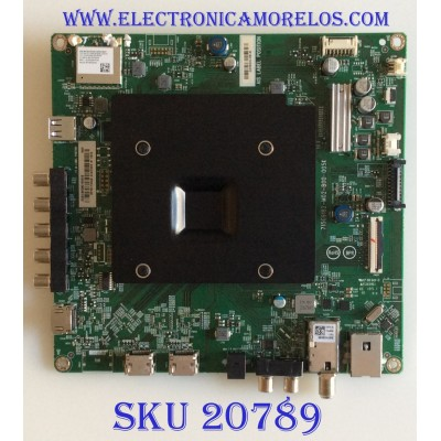 MAIN VIZIO / 756TXICB0QK018 / 715G9182-M01-B00-005K / (X)XICB0QK018020X / BPRHTIKA9 / PANEL TPT550U1 -QVN05.U REV:S57B1S / MODELO E55-F1 LTMWWUMV