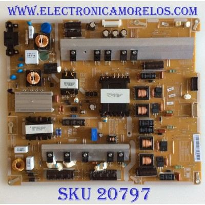 FUENTE DE PODER SAMSUNG / BN44-00543A / PD50B2Q_CDY / HU10251-12040 / PANEL SE500CSA-B2  / MODELO UN50ES6900FXZA AD01