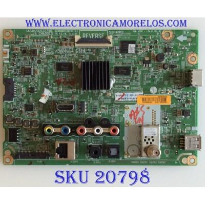MAIN LG / EBT64297418 / EAX66851605(1.0) / PANEL  NC490DUE SADP3 / MODELO 49LH570A-UE BUSWLJR / SUSTITUTAS EBR82570318 / EBT64297402 / EBU63765717 / EBT64297426 / EBT64297421 / EBT64297425 / EBU63642102