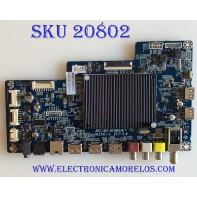 MAIN ELEMENT / E4SC5018RKU /JUC7.820.00180256 / HLS73C-IU / PANEL C500U18-E61-P  / MODELO E4SC5018RKU X8Q0H