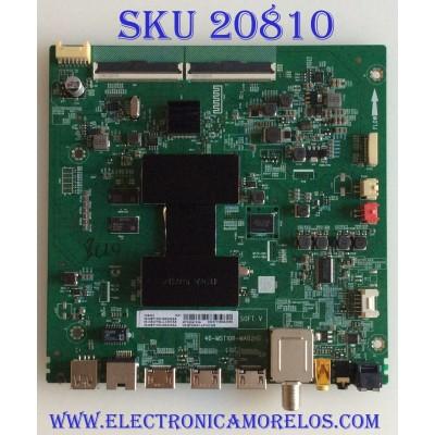 MAIN TCL / 08-CS55TML-LC367AA / 40-MST10R-MAB2HG / 08-MST1005-MA300AA / 08-MST1005-MA200AA / V8-ST10K01-LF1V1286 / PANEL LVU550NDEL / MODELOS 55S423TCAA / 55S425LACA