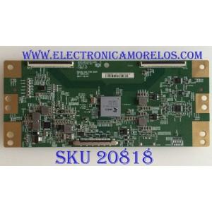 T-CON SONY / HV550QUB-N5L / 47-6021164 /  HV550QUBN5L / B03304EE0160C / 1445 / PANEL YM9F055CNO01 / MODELO XBR-55X800G