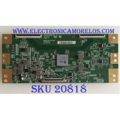 T-CON SONY / HV550QUB-N5L / 47-6021164 / B03304EE0160C / 1445 / PANEL YM9F055CNO01 / MODELO XBR-55X800G