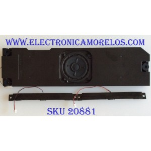 KIT DE BOCINAS PARA TV PANASONIC / L0EYAA000035 / G3413295 / G3313283 / MODELO TC-P605T60