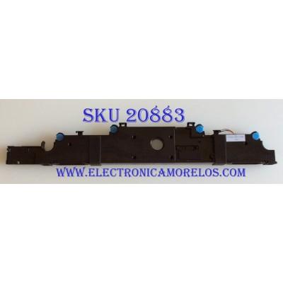 BOCINA PARA TV HISENSE / VIT81580-12W8 / MODELOS 58H6550E /  50H6E/  55H6E / 55R7E / LC-50Q7030U /  55R600E / LC-55Q7040U /  LC-55Q7530U / LC-50Q7030U / LC-50Q620U / 58 CM /