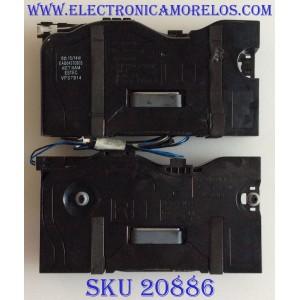 KIT DE BOCINAS PARA TV LG / EAB64370903 / EAB64370904 / MCK69329201 / MCK69311501 / MODELO 43MU79-B