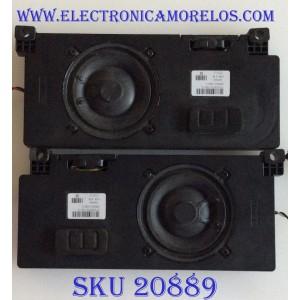 KIT DE BOCINAS PARA TV VIZIO / 570308700-35C-G / BW0803-32F10 / 170713 / MODELO D65-F1