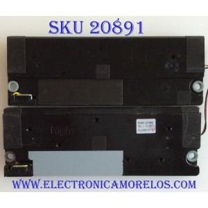 KIT DE BOCINAS PARA TV SAMSUNG / BN96-16798B / F110607JY / MODELO UN46D7000LF
