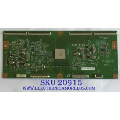 T-CON PROSCAN / 35-D094153 / V580DK1-CS1 / PANEL XYD50BA01 / MODELO PLDED5068A-D