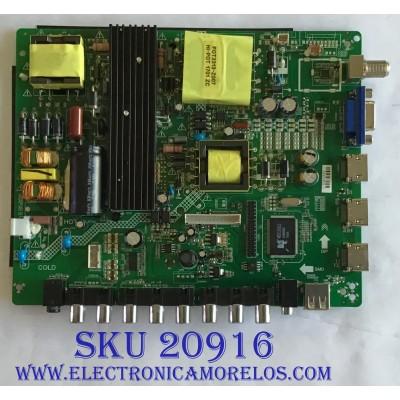 MAIN FUENTE (COMBO) PROSCAN / PLDED5068A-D / ZP.VST.3393.C / 3393C16123101558 / PANEL XYD50BA01 / MODELO PLDED5068A-D
