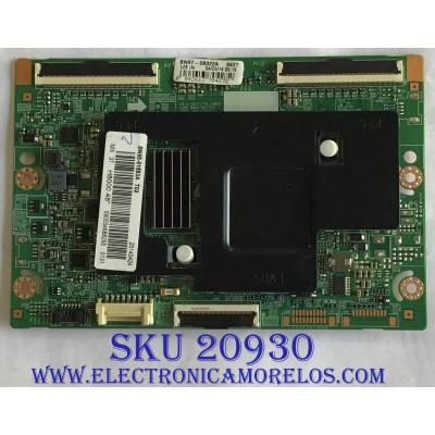 T-CON SAMSUNG / BN95-01593A / BN41-02112A / BN97-08322A  / MODELO UN48H8000AFXZA TS01
