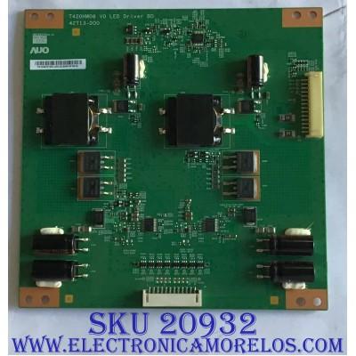 LED DRIVER PROSCAN / SEIKI / ELEMENT / 55.46T07.D01 / T420HW08 / 42T13-D00 / PANEL T460HW04 V.8 / MODELOS PLED4616A / SE461TS / ELEFC463JA