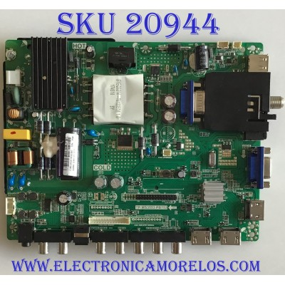 MAIN FUENTE (COMBO) / SCEPTRE / C18012010 / TP.MS3553.PB753 / X505BV-FSR / V500HJ1-PE8 / PANEL CN50CN7387 / MODELO H50 CTTV53DG
