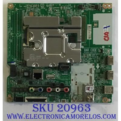 MAIN LG / EBT66233903 / EAX68253604(1.0) / PANEL NC600DQE-VSHP1 / MODELO