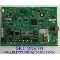 MAIN LG / EBU63866304 / EAX67131102 (1.0) / PANEL V236BJ1-LE2 B REV.C8 / MODELO 24LJ4840-WU.BUSQLPM
