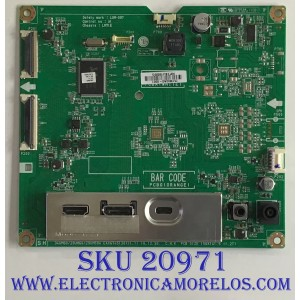 MAIN LG MONITOR / 29UM60-P / EAX67451201(1.1) / LGM-097 / 751M00AG-0001 / PANEL LM290WW2(SS)(C1) / MODELO 29UM60-P