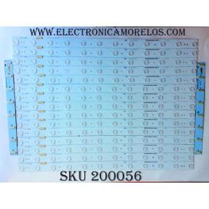 "KIT DE LED PARA TV / HISENSE 1161032 / N96Z64-B1 / HE70WADW38645091030Q / Hisense_70_HD700U-B41(110)_32X12_3030CN_V1 / MODELO 70"" / PANEL HD700IU-B41(110)"
