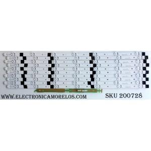 KIT DE LED PARA TV / VIZIO SVG600A26 / SVG600A26_Rev02_UHD_151215 / 1P-1157X00-10SA / 07200016441 086A / MODELO E60U-D3 LFTRURAS
