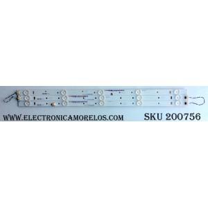 KIT DE LED PARA TV / JVC IC-E-VZAA28D288B/IC-E-VZAA28D288A/IC-E-VZAA28D288C / IC-E-VZAA28D288B / IC-E-VZAA28D288A / IC-E-VZAA28D288C / 098101022116 / 098101022117 / 098101022118 / MODELO EM28T