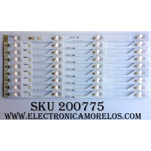 KIT DE LED PARA TV / TCL 50HR330M04A6 / LC8SA2U4-D-K / 4C-LB5004-HR07J / 50HR330M04B6 / 4C-LB5004-HR06J / MODELO 50UP120 / PANEL LVU500ND1L