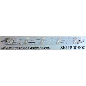 KIT DE LED PARA TV / JVC IC-D-VZAA28D288A/B/C / IC-D-VZAA28D288A /IC-D-VZAA28D288B / IC-D-VZAA28D288C / 098101022116 / 098101022117 / 098101022118 / MODELO EM28T / PANEL ST2751A01-4