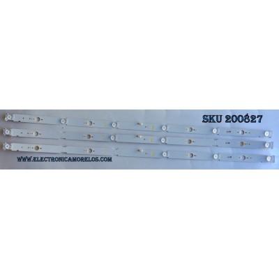 KIT DE LED PARA TV / SONY 094S117 / SAMSUNG_2015SONY_TPZ40_FCOM_A06_REV1.0_151014 / MODELO KDL-40W650D / PANEL NS6F400DND01