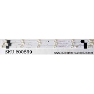 KIT DE LED PARA TV / JVC IC-E-VZAA32D211(A)(B)(C) / 09810102210 0/1/2 / MODELO EM32TS
