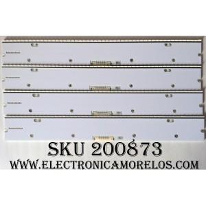 KIT DE LED PARA TV / SAMSUNG BN96-30667A (4 PZAS.) / 30667A / MODELO UN65KU6500FXZA FA01 / PANEL CY-VH065FSLV6H