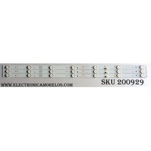 KIT DE LED PARA TV / HISENSE 303GC320034 / GC32D07-ZC21FG-08 / E356289 / MODELO 32H4C / PANEL HD315DH-B12