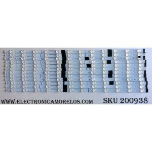 KIT DE LED PARA TV / ECH-B23-3-S6 / 0981010B8712 / 0981010B8713 / BC33-A7-837-13 / BC33-A7-937-12