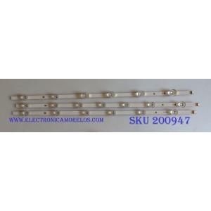 "KIT DE LED`S PARA TV (3 PIEZAS) / LG 12D1B / U3Lb12D1B / DRT 3.0 32""_A type REV0.2 / PANEL`S NC320DXN-VSBP5 / NC320DXN / NC320DXN / MODELOS 32LF595B-UB.AUSMLJM / 32LN530B-UA BUSFLWM / 32LB560B-UZ BUSMLJM / M06364 / A1G5P / U1P50C / G5PMBL#1C"
